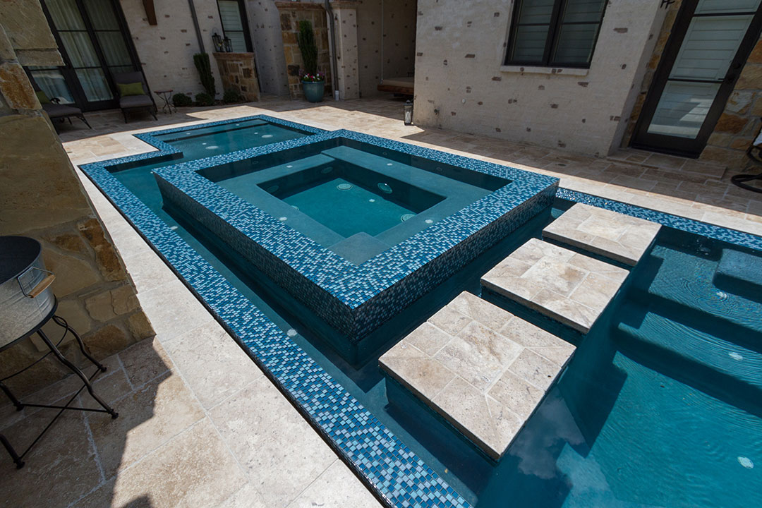 Deep Blues Interior Pool Finish