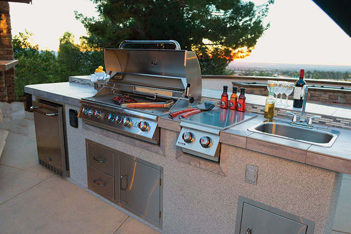 Grill Islands, Outdoor Cooking