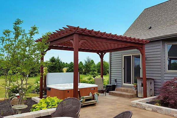 Wood Pergolas Patio Covering