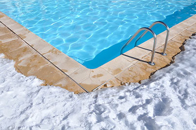 Pool Winter Freeze Alerts