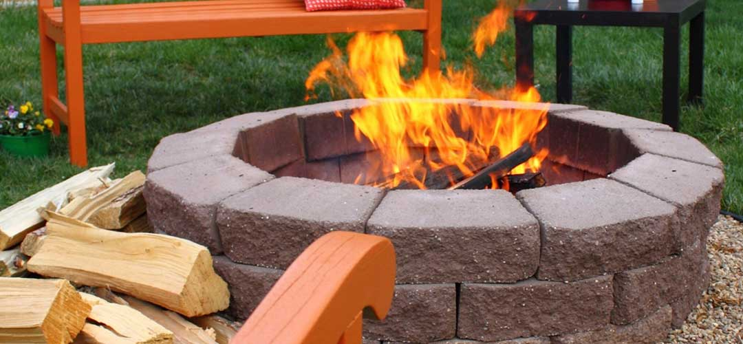 Backyard Fire Pit, Outdoor Living