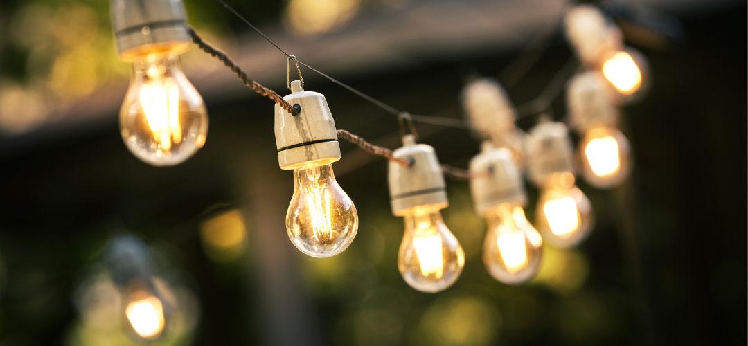Backyard Dainty String Lights