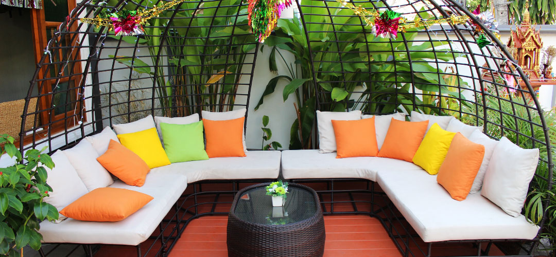 Caged Daybed, Outdoor Living