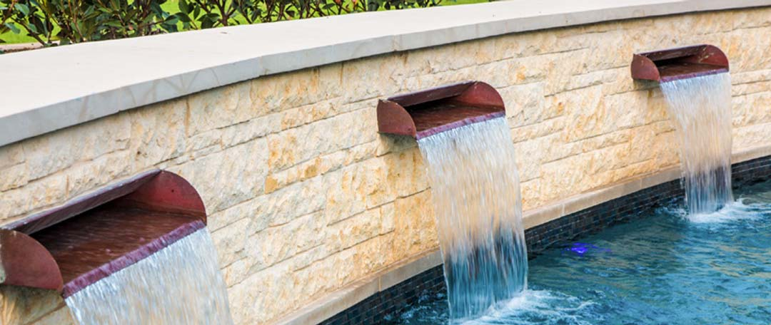Copper Pool Scupper for Swimming Pool