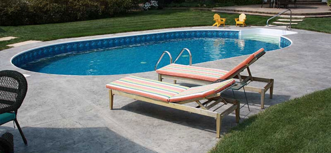 Inground Pool with Lounge Chairs
