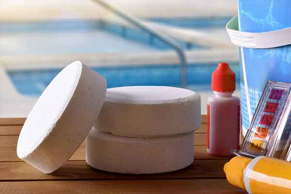 Pool Sanitizing Chemicals
