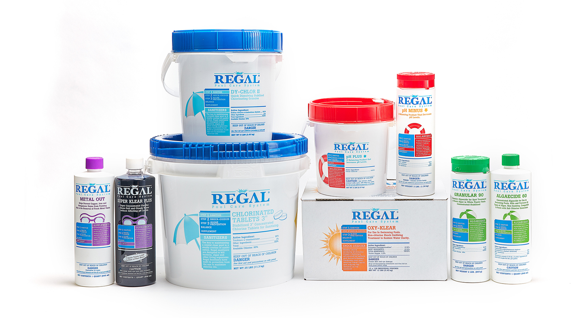 REGAL Chlorine Products, Pool Cleaner Chemicals | Pool Maintenance