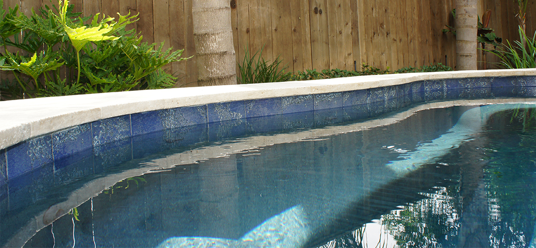 Backyard Inground Swimming Pool, Tile maintenance