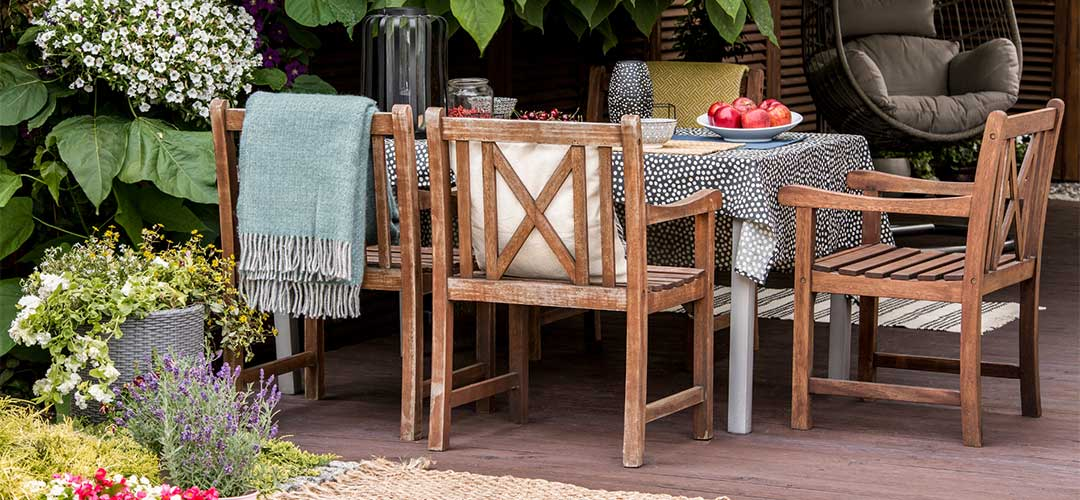 Outdoor Furniture, Wooden Chairs