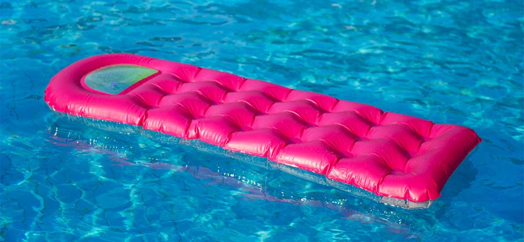 tanning pool float