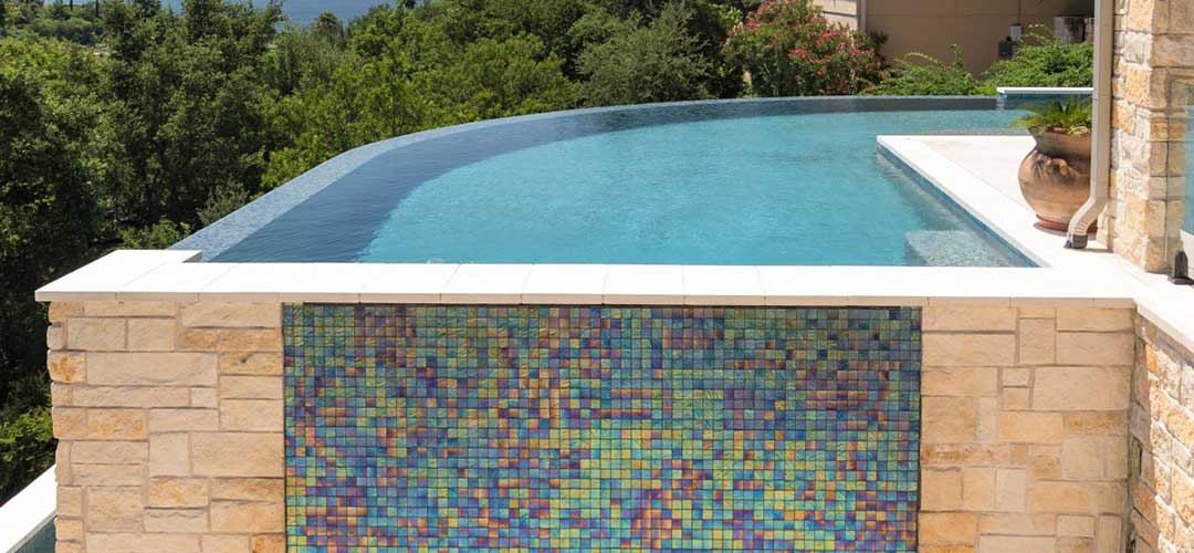 1x1 tile wall with swimming pool