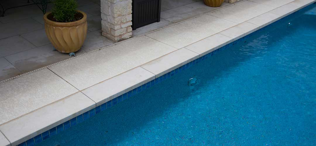 swimming pool with 3x3 tile